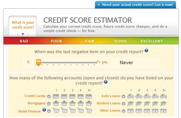 estimate credit score driverlayer search engine. Black Bedroom Furniture Sets. Home Design Ideas