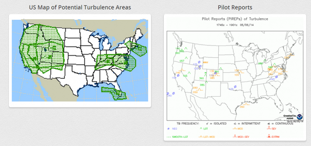 Another Turbulence Incident Injures Airline Passengers What We - Us turbulence map