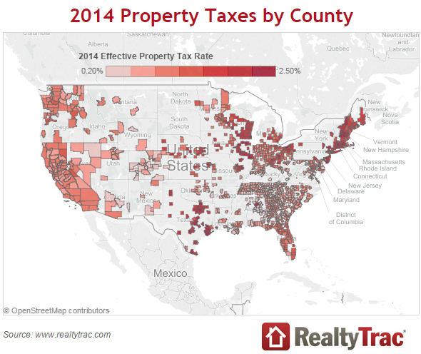 Click for the RealtyTrac report.