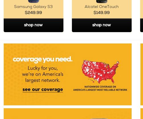 Pee-a-boo!  I see you, Verizon coverage map