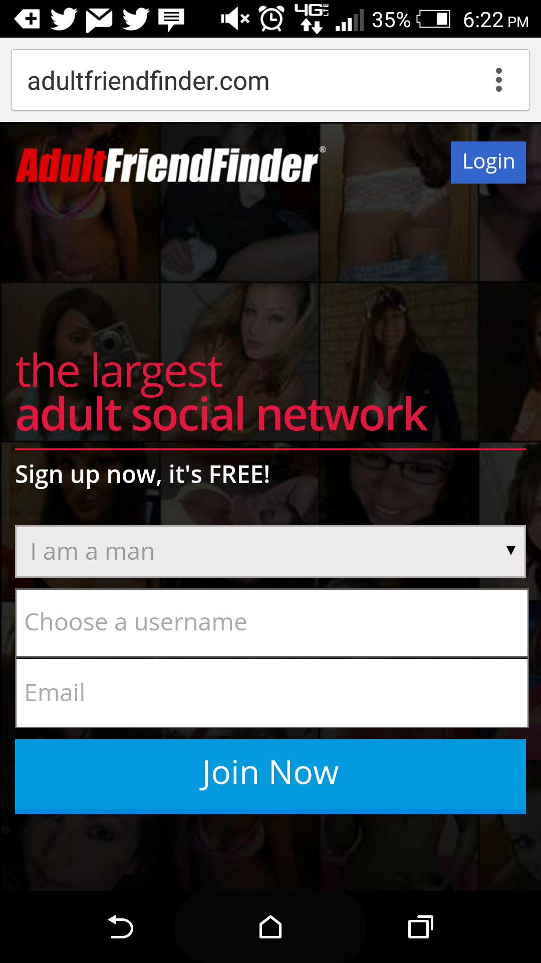 Adultfriendfinder Mobile