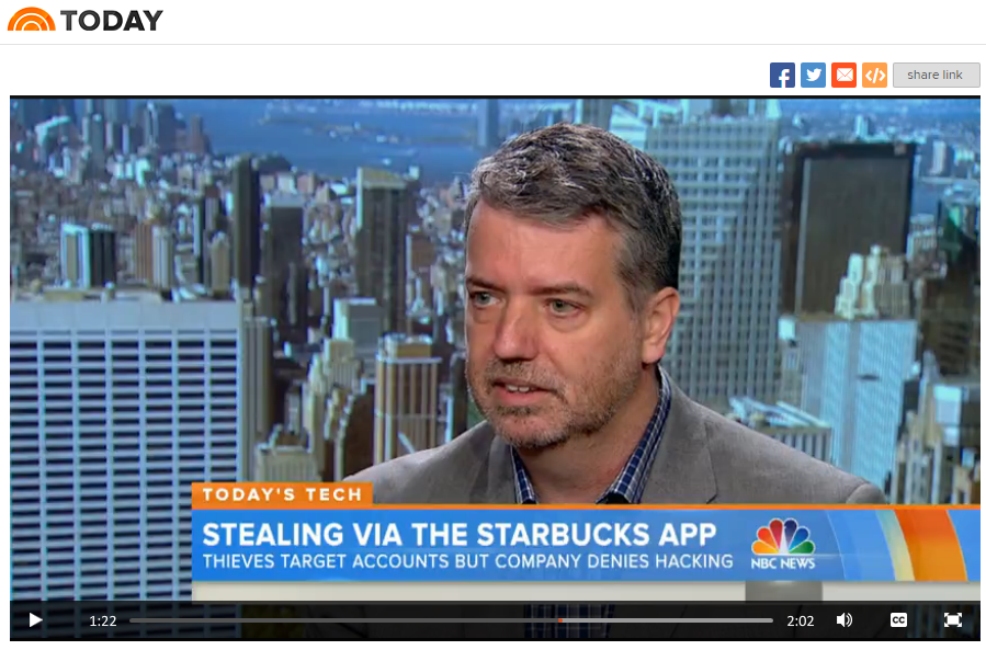 I appeared on the TODAY show to talk about the Starbucks issue. Click to watch