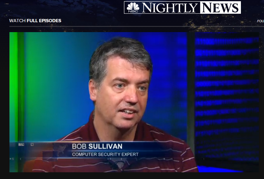 I discuss the alleged Cardinals hack with NBC's Kevin Tibbles. Click to watch.
