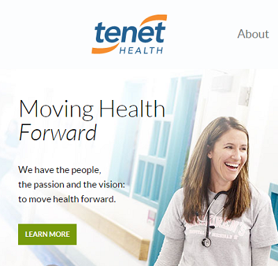 Tenet owns Conifer, an 'indirect' subsidiary of Syndicated....which ignored debt collection laws.