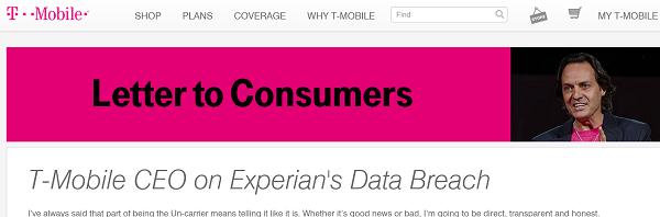 T-Mobile's announcement