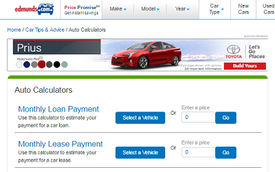 do the math a good lease vs buy calculator at edmundscom