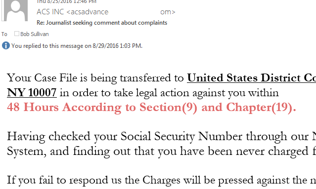 Feb 14,  · The email message below, which appears to have been sent from a so-called company called Advance Cash Services (ACS INC), claiming that a wire fraud allegation charges have been filed against the recipients, is a scam.